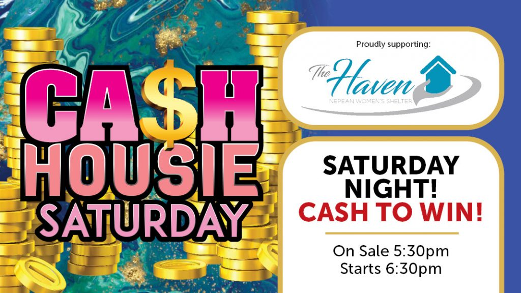 Cash Housie Saturday at Penrith RSL