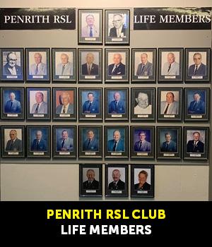 Life Members - Penrith RSL