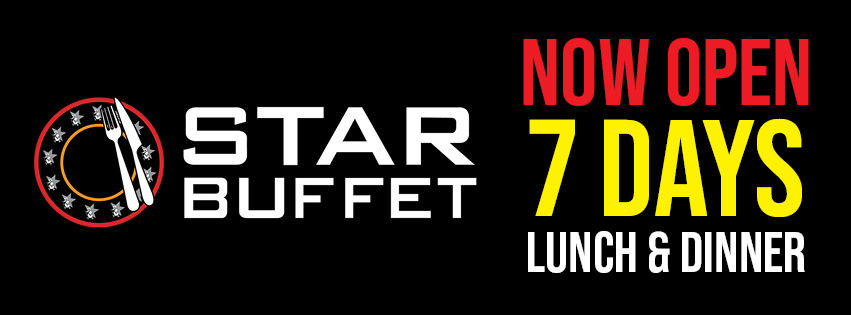 Star Buffet at Penrith RSL - Open 7 days. Lunch & Dinner
