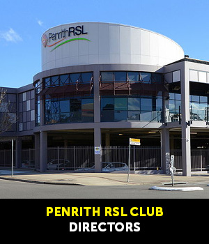 Directors - Penrith RSL Club